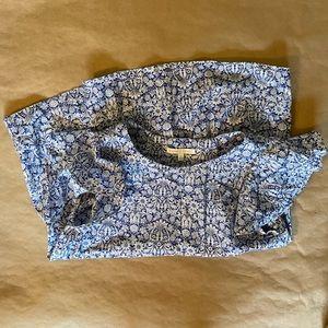 Antonio Melani flutter sleeve blouse size S